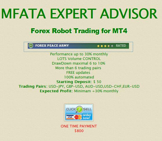 IVEForex und MFATA Expert Advisor EA im Test enttäuscht - Bild 4.