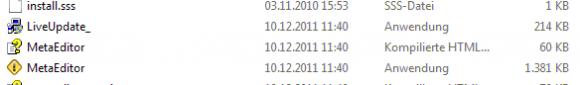 Vorsicht beim Update von Metatrader 4 Build 416 auf Build 418 EA können Probleme bereiten - Bild 1.