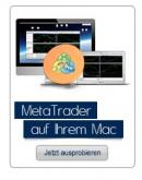 Mac OS Apple haben nie den Metatrader unterstützt.