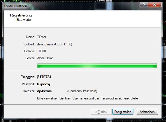 Metatrader 4 Download und Installationsanleitung - Bild 11.