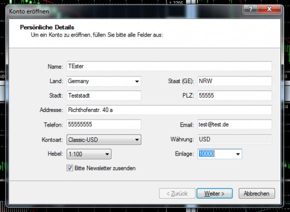 Metatrader 4 Download und Installationsanleitung - Bild 9.