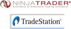 Alternative automatische Handelsterminals wie Ninja Trader, Tradestation und Broker Trading Plattformen - Bild 1.
