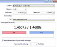 Forex Order Ausführungstypen – Market und Limit Order - Bild 1.