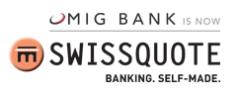 Swissquote kauft die MIG Bank.